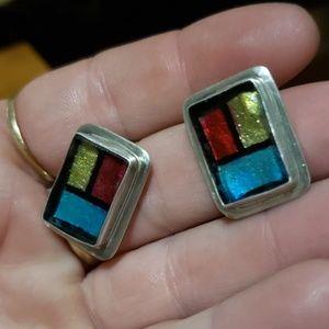 Jewelry - Vintage Sterling earrings
